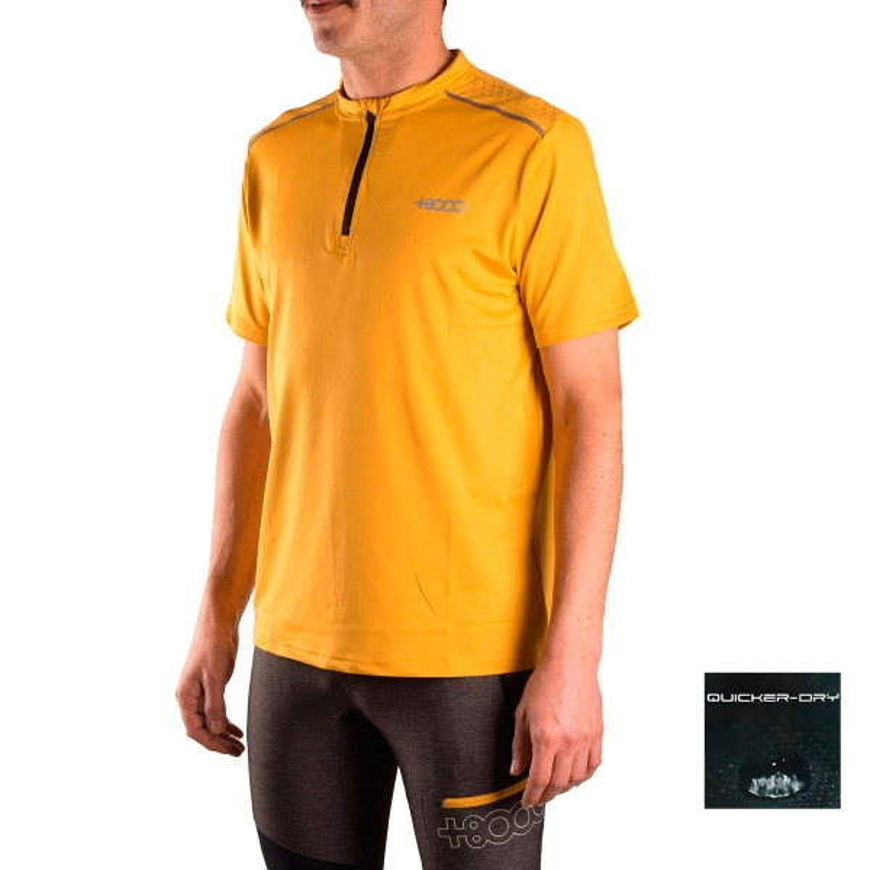 +8000 Camiseta Arenoso Mostaza Hombre