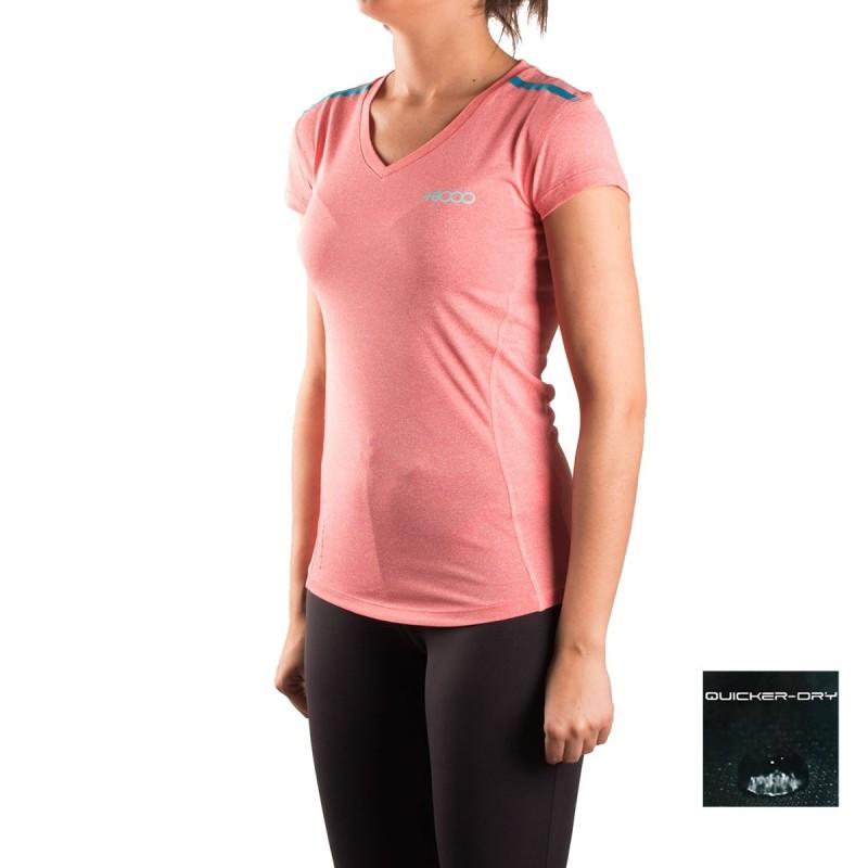 +8000 Camiseta Algas 17V Rosa Mujer