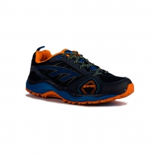 Hi-Tec Zapatilla Haraka Trail S Night Cobalt Orange Limoncello Azul Hombre