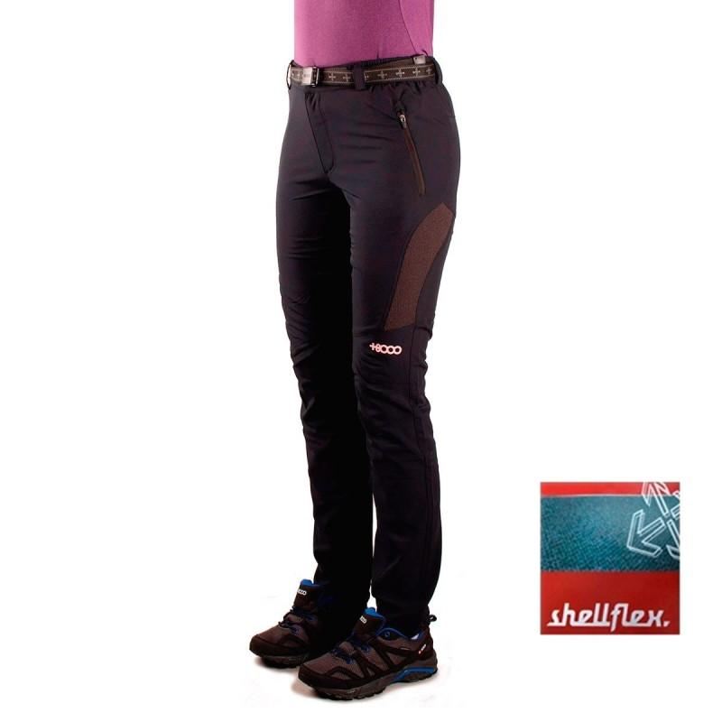 +8000 Pantalón Forca 17V Negro Mujer