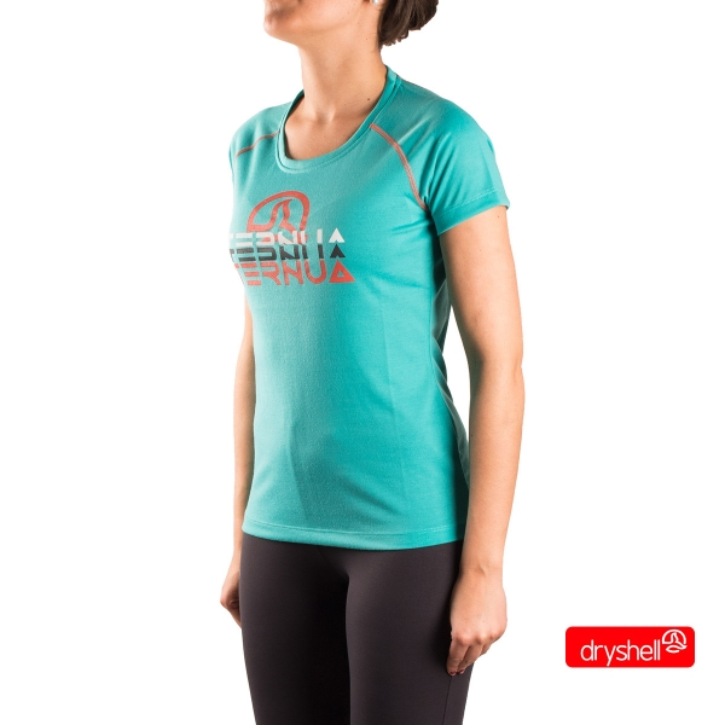 Ternua Camiseta Emeny A Turquesa Mujer