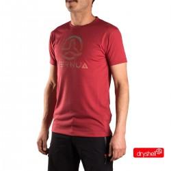 Ternua Camiseta Alifany B Granate Hombre