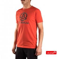 Ternua Camiseta Alifany A Naranja Hombre