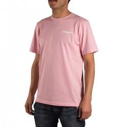 Carhartt Camiseta Flamingo Script Rosa Vegas Pink Hombre