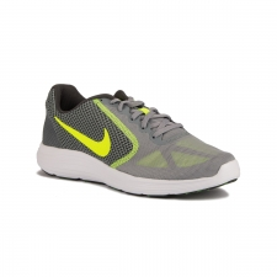 Nike Revolution 3 Gris Amarillo Fluor Stealth Anthracit Blanc Volt Hombre