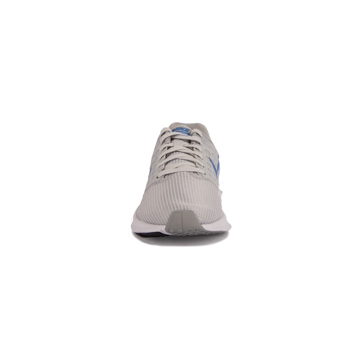 Nike Wmns Downshifter 7 Gris Azul Pure Platinum Medium Blue Mujer
