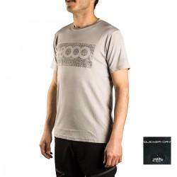 +8000 Camiseta Reclus 17V Gris Medio Vigore Hombre