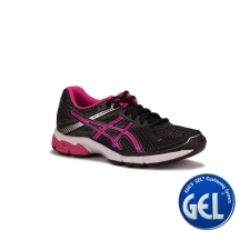 Asics Gel Innovate 7 Black Pink Glow Silver Mujer