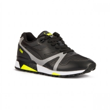 Diadora N900 Bright Protection Black Yellow Fluor Negro Hombre