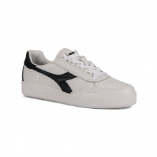 Diadora B. Elite White Blue Denim Blanco Azul Marino Hombre