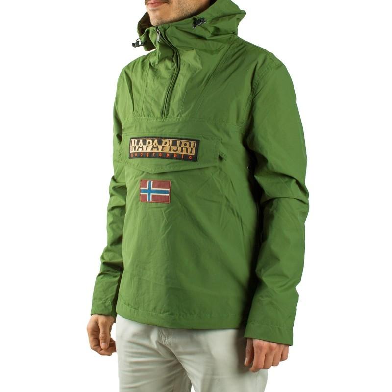 buy online 15058 4d904 Napapijri Canguro Rainforest Greenery Verde Hombre