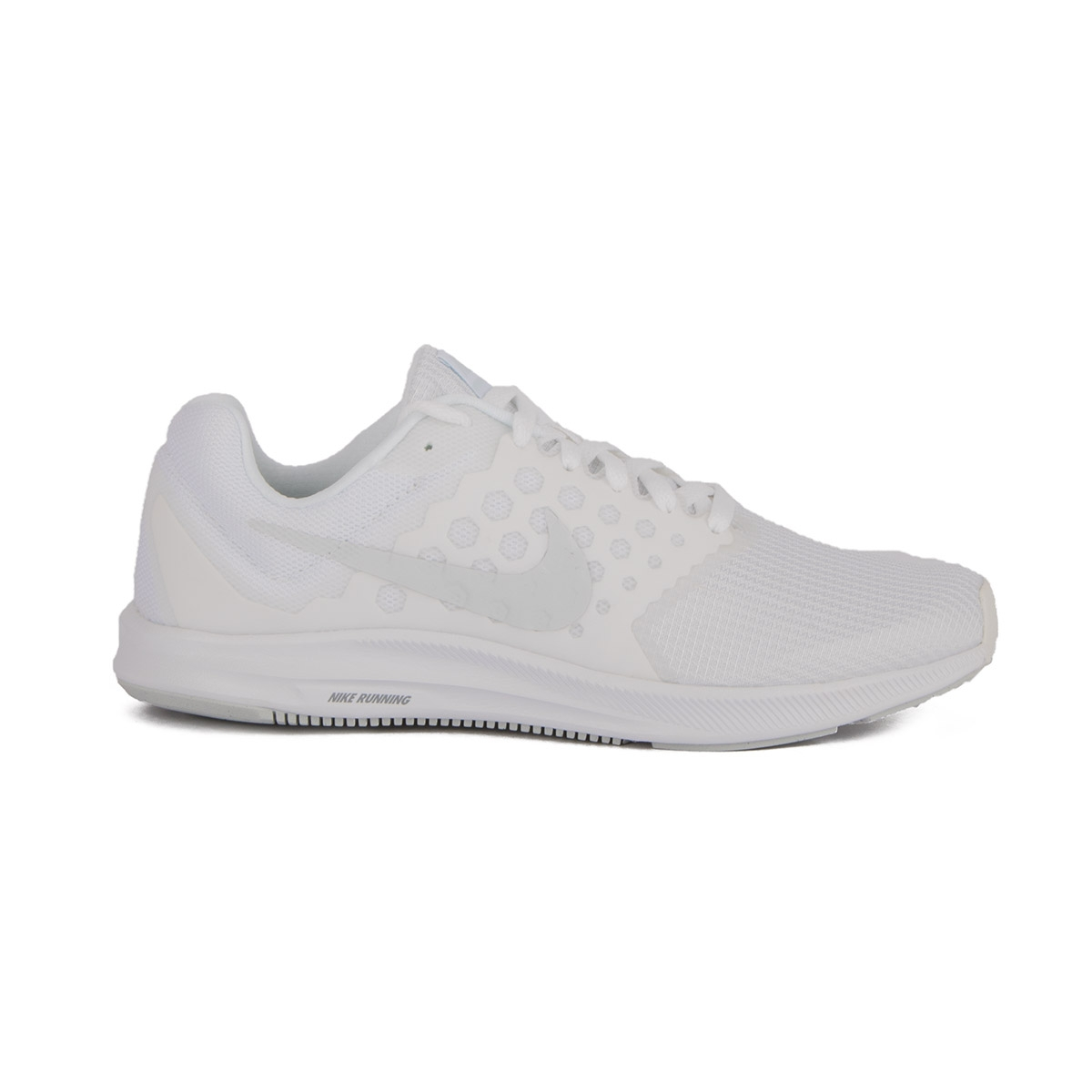 Nike Downshifter 7 Blanco White Pure Platinum Hombre