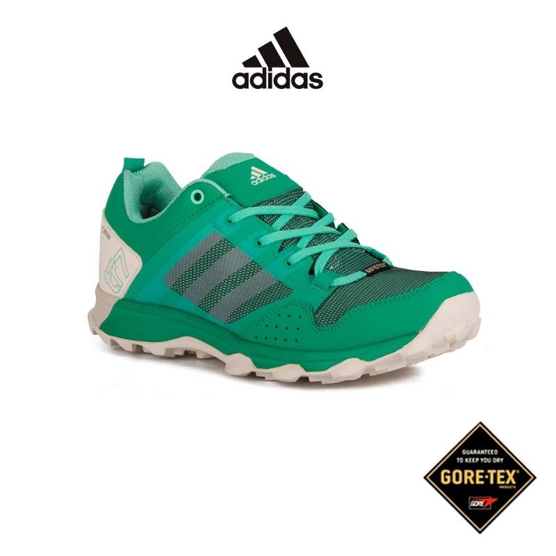 Adidas Kanadia 7 TR GTX W Corgrn Cwhite Easgrn Verde Mujer
