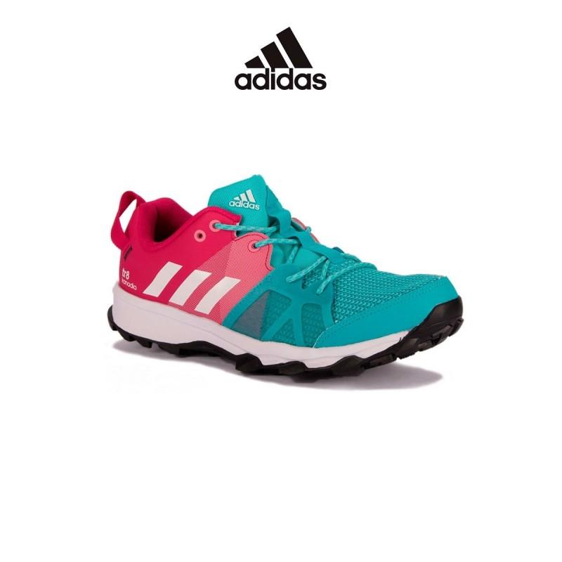 Adidas Kanadia 8 K Rosa Turquesa Niño