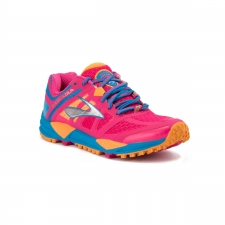 Brooks Cascadia 11 Beetroot Purple Blue Aster Rosa Mujer