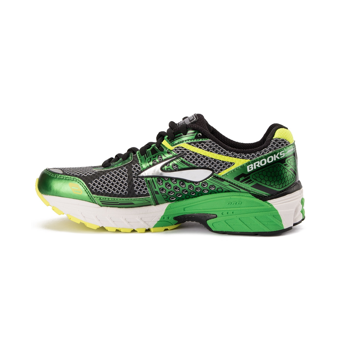 Brooks Vapo 3 Black Classic Green Nighlife Verde Hombre