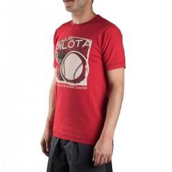 Astore Camiseta Banako B Rojo Pelota Vasca Hombre
