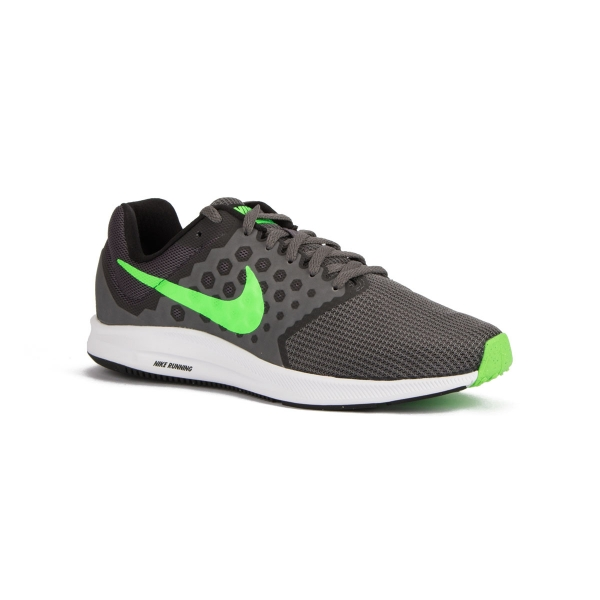 Alergia total Oswald  Nike Zapatillas Downshifter 7 Dark Grey Rage Green Gris Verde Hombre