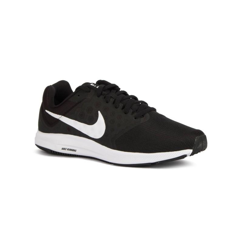 Nike Zapatillas Downshifter 7 Black White Negro Blanco Hombre 1813f5c7eba