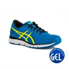 Asics Gel Zaraca 5 Electric Blue Safety Yellow Black Azul Amarillo Hombre