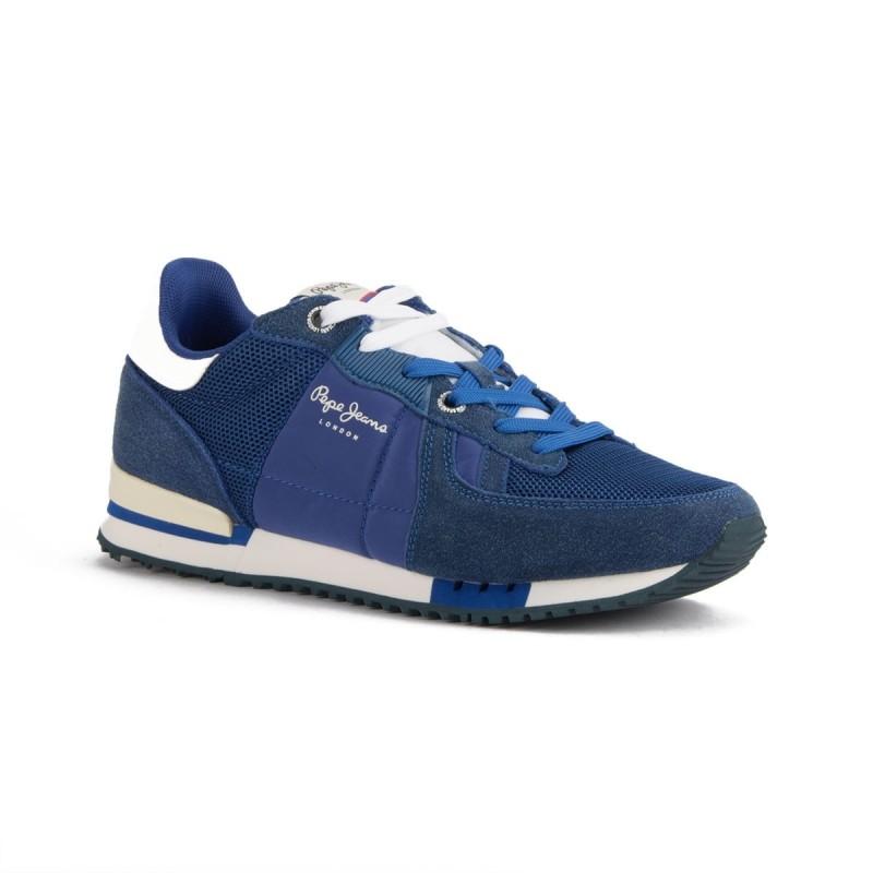 precio baratas en pies imágenes de diseño atemporal Pepe Jeans Zapatilla Tinker Bold Azul Hombre
