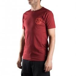 Ternua Camiseta Skan B Granate Hombre
