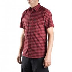 Ternua Camisa Echon B Rojo Negro Hombre