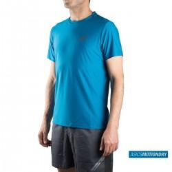 Asics camiseta SS Top Thunder Blue Azul Hombre
