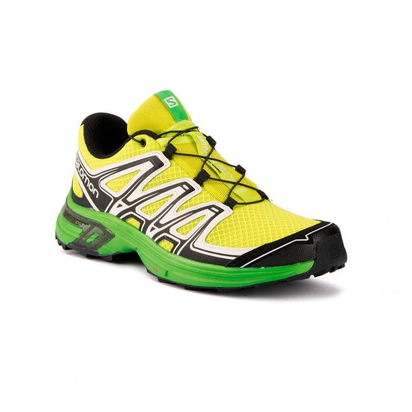 Salomon Zapatilla Wings Flyte 2 Lime Punch Black White Hombre