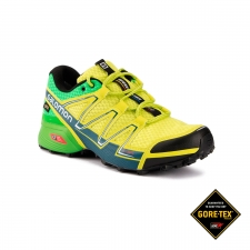 Salomon Zapatilla Speedcross Vario GTX Lime Punch Classic Green Mallard Blue Hombre