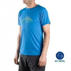 Trangoworld Camiseta Tauber 4D0 Azul Hombre