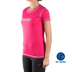 Trangoworld Camiseta Primm 4H0 Rosa Mujer