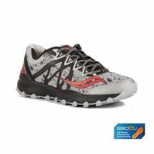 Saucony Grid Caliber TR Grey Black Red Gris Rojo Hombre