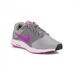 Nike Wmns Downshifter 7 Cool Grey Hyper Violet Gris Violeta Mujer