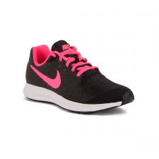 Nike Downshifter 7 GS Black Hyper Pink White Niño
