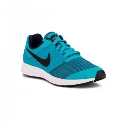 Nike Downshifter 7 GS Chlorine Blue Black Azul Negro Niño