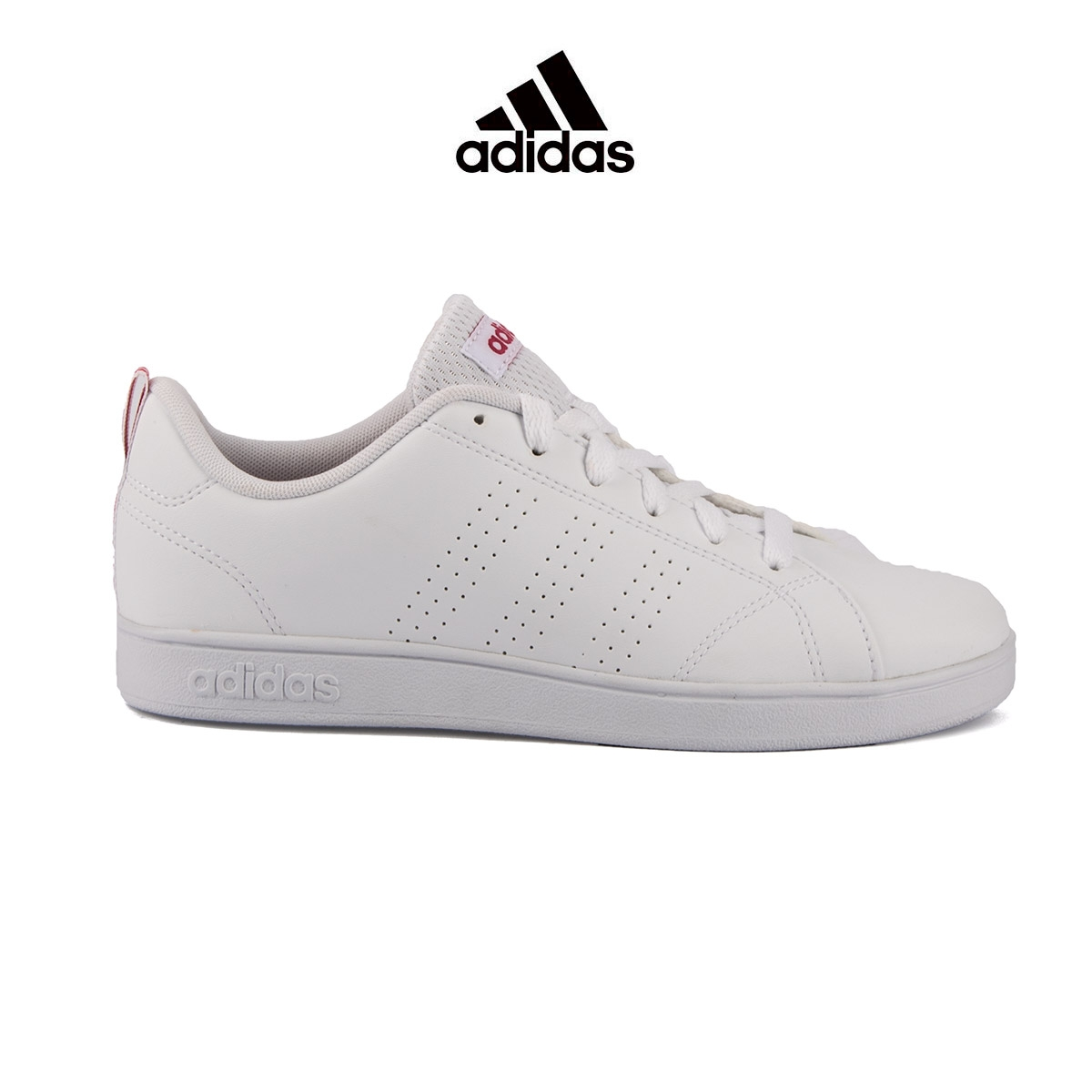 ADIDAS Neo VS Advantage CL K Pink White Rosa Blanco Mujer