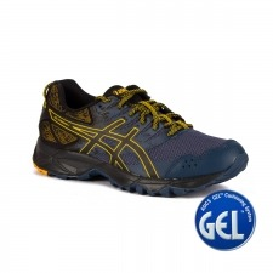 Asics Gel Sonoma 3 Insigna Blue Black Gold Azul Marino Amarillo Hombre