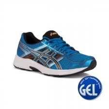 Asics Gel Contend 4 Directorie Blue Black Hot Orange Azul Hombre