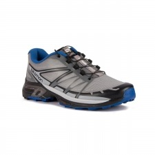 Salomon Zapatilla Wings Pro 2 Monument Black Nautical Blue Gris Azul Hombre