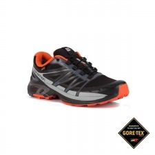 Salomon Zapatilla Wings Pro 2 GTX Black Dark Cloud Tomato Red Negro Rojo Hombre