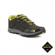 The North Face Litewave Fastpack GTX Climbing Ivy Green Lime Negro Verde Goretex Hombre