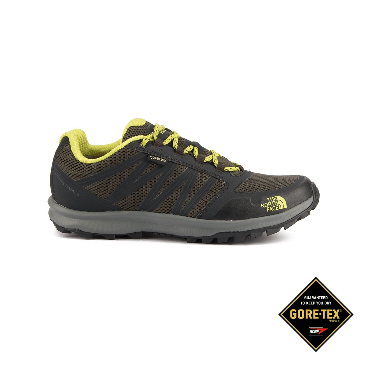 The North Face Litewave Fastpack GTX Green Negro Verde Goretex Hombre