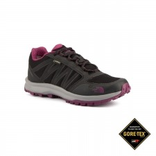 The North Face Litewave Fastpack GTX Black Amaranth Negro Morado Goretex Mujer