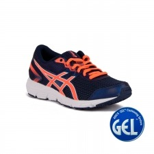Asics Gel Zaraca 5 GS Indigo Blue Flash Coral White Azul Coral Niño