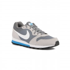 Nike MD Runner 2 Cool Grey White Wolf Grey Gris Azul Hombre