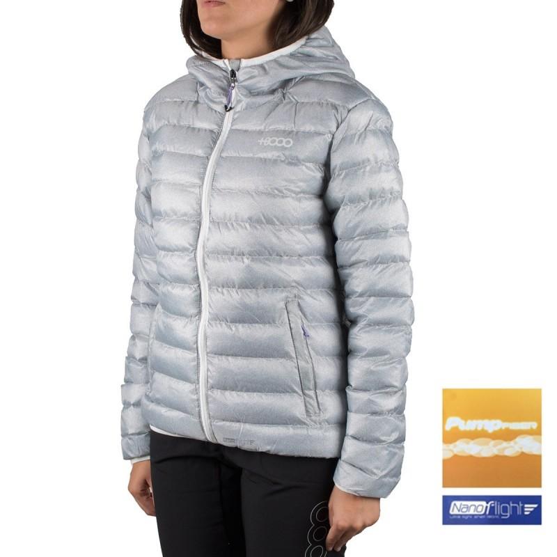 +8000 Chaqueta fibras Gurla hielo estampado Mujer