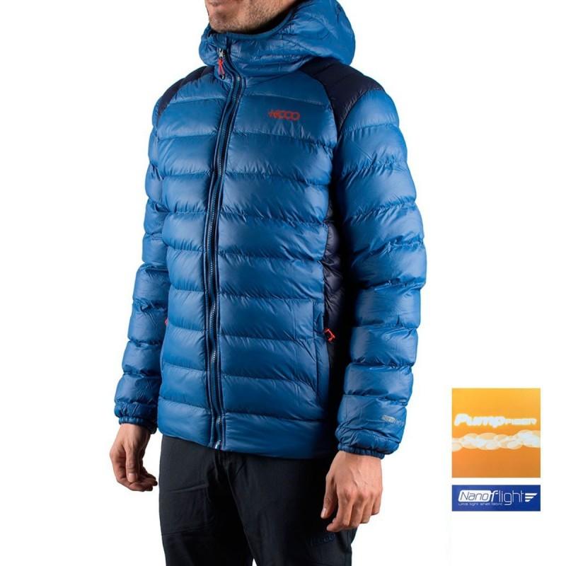 +8000 Chaqueta fibras Icedo I17 Azul Lavado Hombre