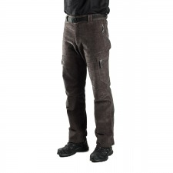 Trangoworld Pantalón de pana Goym Antracita Hombre