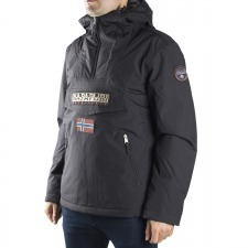 Napapijri Canguro Rainforest Winter Pockets Black Negro Invierno Hombre